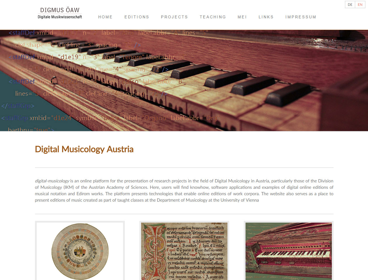 Digital Musicology Austria